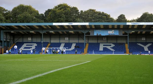 Bury MP James Frith is seeking a meeting with the English Football League to request that the town's football club is reinstated to League Two next season under new ownership (Martin Rickett/PA)