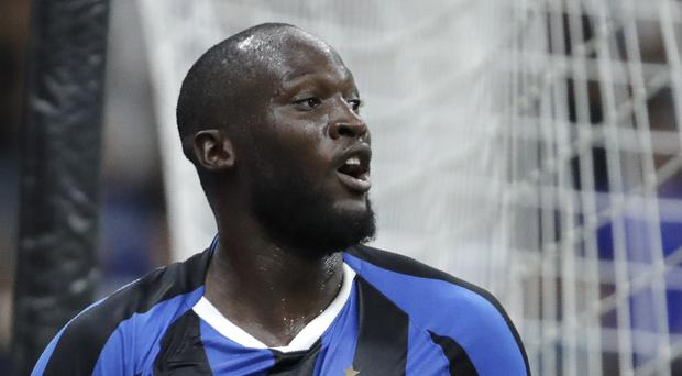 Romelu Lukaku has been subjected to racial abuse in Italy (Luca Bruno/AP)