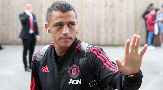 Alexis Sanchez started only 33 games for Manchester United (Martin Rickett/PA)