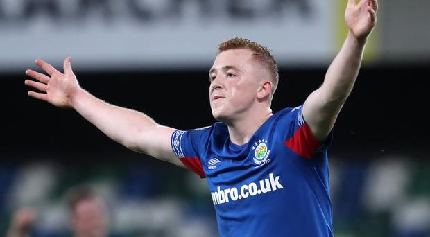 Shayne Lavery has been quick to make an impact at Linfield (Niall Carson/PA)