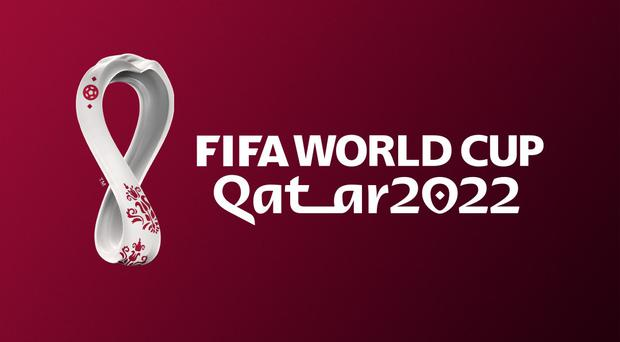 The emblem was projected onto a number of Doha's landmark venues. (FIFA Handout/PA)