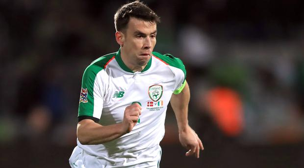 Republic of Ireland skipper Seamus Coleman is taking one game at a time (Simon Cooper/PA)
