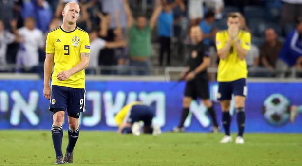 Steven Naismith (left) says Scotland's recent record in qualifying for major tournaments has not been good enough (Adam Davy/PA).