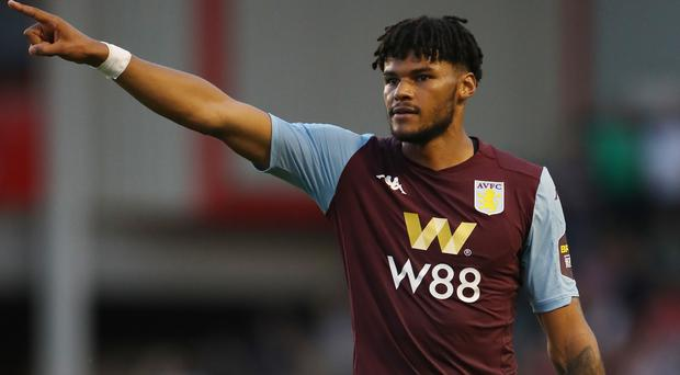 Tyrone Mings is hoping to make his international debut soon (PA)