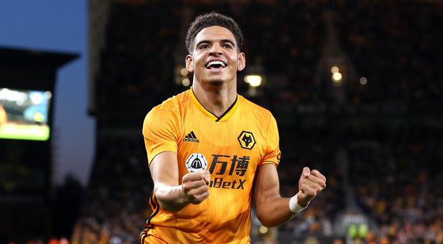 Morgan Gibbs-White believes he could become England Under-21 captain (Nigel French/PA)