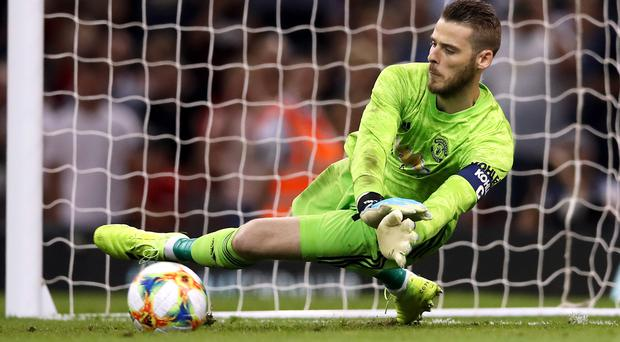 David De Gea is rumoured to be a target for Juventus if he does not re-sign with Manchester United (PA)