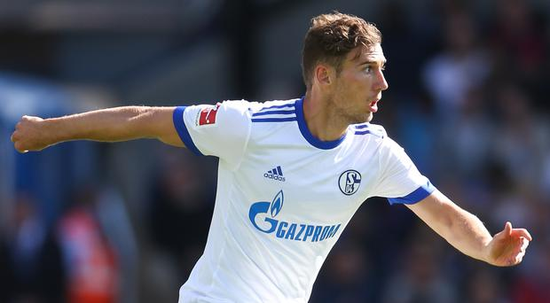 Schalke's Leon Goretzka during the pre-season friendly match at Selhurst Park, London.