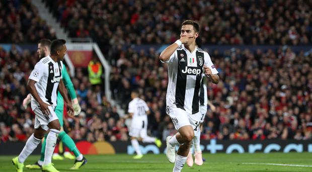 Paulo Dybala is still being linked with a move to England (PA)