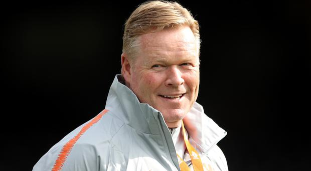 Ronald Koeman called it a great evening after Holland won in Germany for the first time in almost 17 years (Tim Goode/PA)