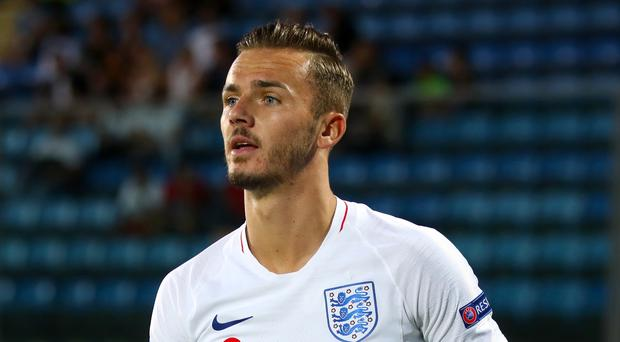 James Maddison is taking nothing for granted where England are concerned (PA)