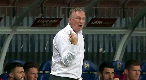 Michael O'Neill's side face crunch time in their bid to qualify for Euro 2020 (Steven Paston/PA)