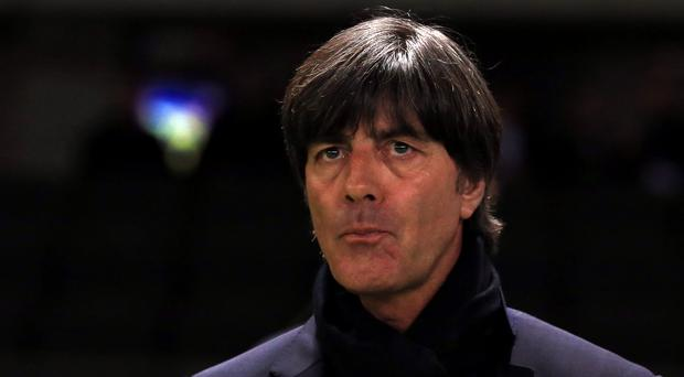 Joachim Low has warned his side to expect an aggressive approach from Northern Ireland (Adam Davy/PA)