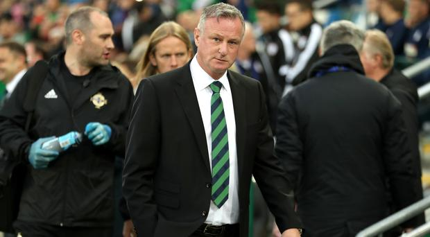 Michael O'Neill rued a missed opportunity (Liam McBurney/PA)