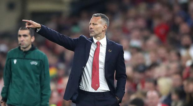Wales manager Ryan Giggs saw his team beat Belarus 1-0 in a Cardiff friendly (Nick Potts/PA)