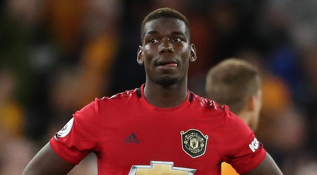 Manchester United midfielder Paul Pogba is in the news again (Nick Potts/PA)