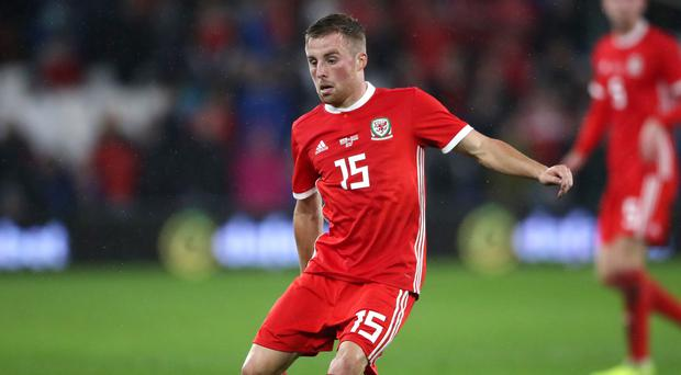 Joe Morrell impressed on his Wales debut in the friendly victory over Belarus (Nick Potts/PA)