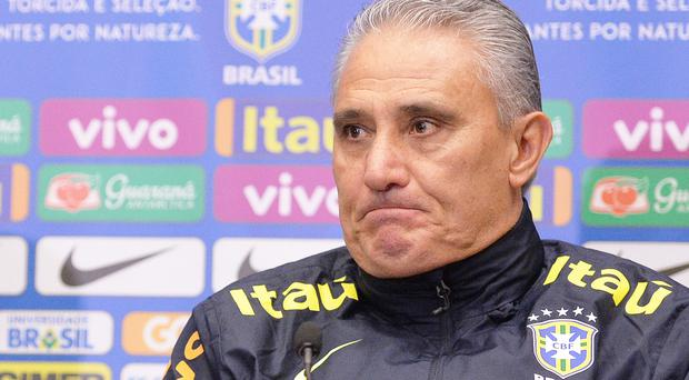 Brazil boss Tite is expected to make changes against Peru (John Stillwell/PA)