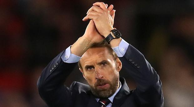 Gareth Southgate was concerned by England's sloppy defensive play (Adam Davy/PA)