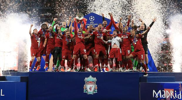 Liverpool won last season's Champions League to book their spot in this year's Club World Cup (Peter Byrne/PA)