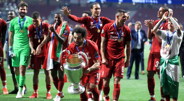 Liverpool will launch their Champions League title defence against Napoli (Mike Egerton/PA)