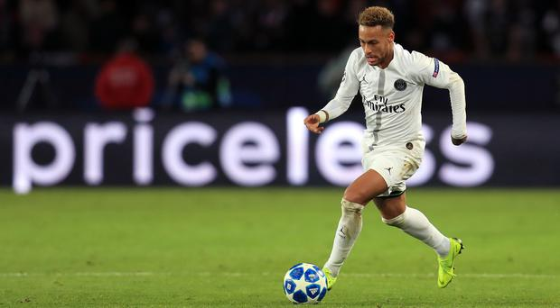Neymar will miss Paris St Germain's opening two Champions League games (Mike Egerton/PA)