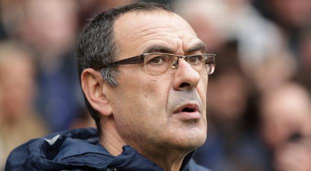 Juventus boss Maurizio Sarri has a few selection concerns for their European opener (Adam Davy/PA)