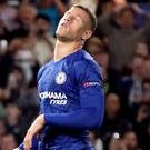 Chelsea's Ross Barkley reacts after missing from the penalty spot (Nick Potts/PA)
