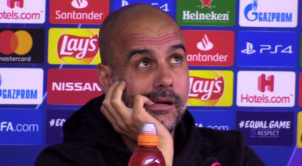 Pep Guardiola will relish the challenge of adversity (Andy Hampson/PA)