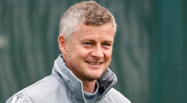 Manchester United manager Ole Gunnar Solskjaer is putting his faith in youth in the Europa League (Martin Rickett/PA)
