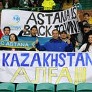 Astana fans will be vocal in Manchester (Jeff Holmes/PA)