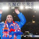 Steven Gerrard has led the tributes to the late Rangers captain Fernando Ricksen, pictured (Lynne Cameron/PA)