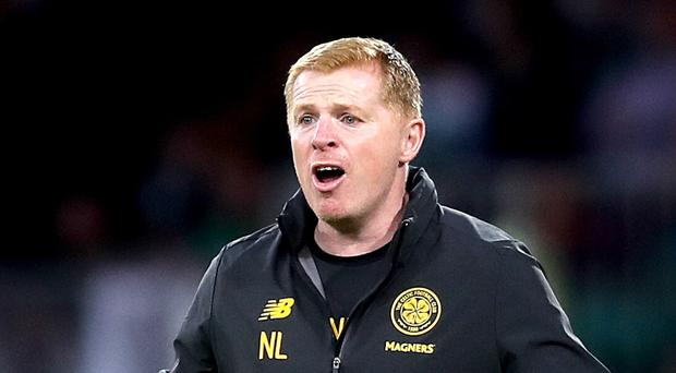 Neil Lennon felt his side were hard done by (Jane Barlow/PA)