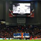 Rangers remembered on Thursday (Andrew Milligan/PA)