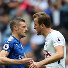 Brendan Rodgers would not swap Jamie Vardy for Harry Kane (Steven Paston/PA)