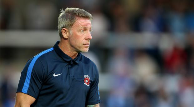 Hartlepool manager Craig Hignett insists there is no room in football for racism (Richard Sellers/PA)