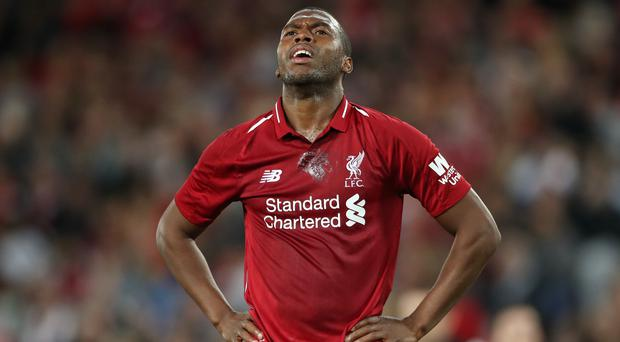 Daniel Sturridge was handed a two-week suspension from football and a £75,000 fine for breaching betting regulations (Nick Potts/PA)