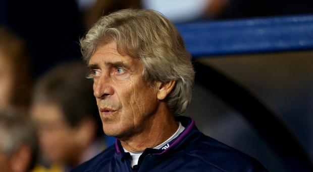 Manuel Pellegrini saw his side suffer a huge Carabao Cup upset (Steven Paston/PA)