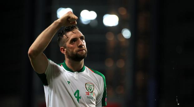 Shane Duffy could miss the Republic of Ireland's Euro 2020 double-header against Georgia and Switzerland
