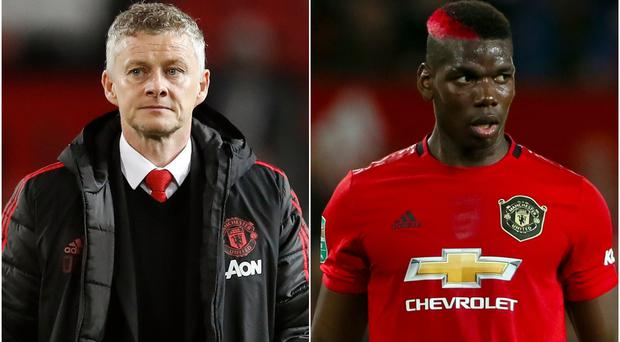 Ole Gunnar Solskjaer is without Paul Pogba in Holland (Martin Rickett/Richard Sellers/PA)