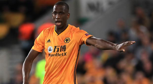 Willy Boly snatched a late winner for Wolves (Mike Egerton/PA)