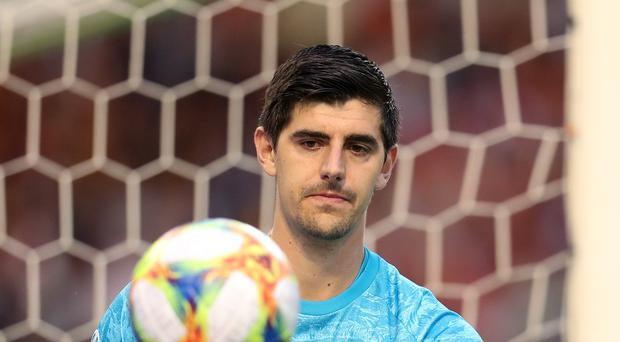 Former Chelsea goalkeeper Thibaut Courtois has been criticised for his performances at Real Madrid (Bradley Collyer/PA)