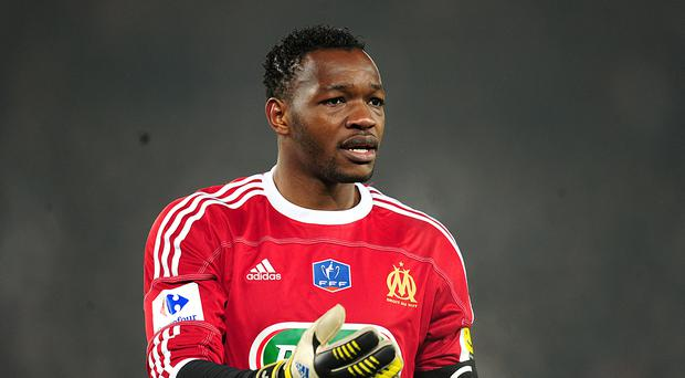 Steve Mandanda shipped three goals while in nets for Marseille (Adam Davy/PA)