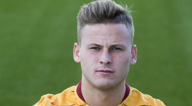 James Scott was on target for Motherwell (PA)