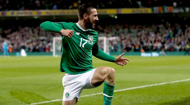 Republic of Ireland midfielder Conor Hourihane is refusing to rest on his laurels (Niall Carson/PA)