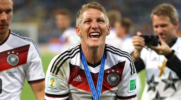 Bastian Schweinsteiger won the World Cup with Germany in 2014 (Mike Egerton/PA)