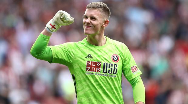 Sheffield United goalkeeper Dean Henderson has been called up to the England squad (Tim Goode/PA).