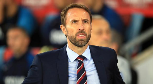 Gareth Southgate is happy with England's attacking options (Adam Davy/PA)