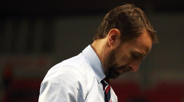 Gareth Southgate has a few days in which to turn England around before the Bulgaria game (Nick Potts/PA)