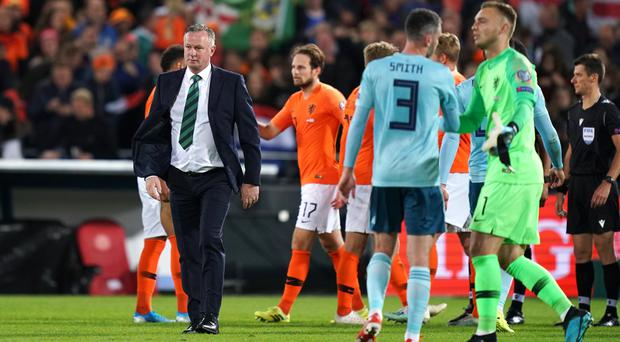 Northern Ireland face the Czech Republic in Prague days after a heartbreaking loss to Holland (John Walton/PA)