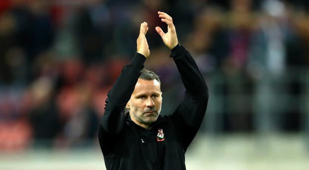 Wales manager Ryan Giggs hailed the character of his side after the 1-1 draw against Croatia (Tim Goode/PA)